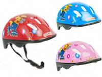 Шлем защитный детский для езды на велосипеде, роликах, самокате