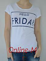 Женская стильная футболка