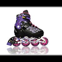 Роликовые коньки Amigosport Rekon фиолетовые