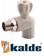 Кран Радиаторный Угловой Kalde .∅ 25х3/4 (КБП)