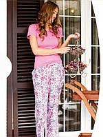 Весенняя женская пижама из хлопка