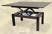 Стол-трансформер раскладной Флай деревянный венге