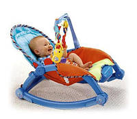 Автоматическое кресло качалка BLUE от 0 месяцев до 2 х лет  Бесплатная доставка Укрпочтой