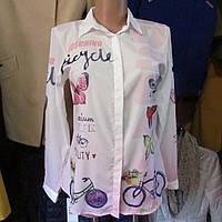 Блуза турецкая цветная