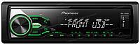 Автомагнитола Pioneer MVH-180UBG с RDS тюнером, USB, Aux-входом и поддержкой аудиофайлов FLAC