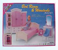 Мебель Gloria спальня и гардероб, в кор.42306см