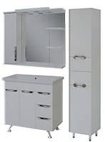 """Комплект мебели для ванной комнаты """"Гармония-3"""" (левый)"""