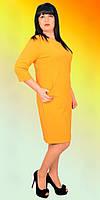 Элегантное молодежное платье красивого цвета с молнией на спинке по всей длине