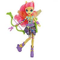 Кукла Май Литл Пони Флатершай Стрельба из лука Девочки Эквестрии (My Little Pony Equestria Girls Fluttershy