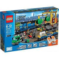 Конструктор LEGO City Trains Грузовой поезд (60052)