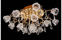Люстра галогенная со светодиодной подсветкой , пультом 8502-13