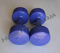 Гантели для фитнеса 2 шт по 4 кг