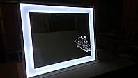Ультратонкое Зеркало  Vileroy 1000*800 мм со светодиодной подсветкой , индивидуальный размер
