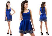 Платье с королевским кружевом