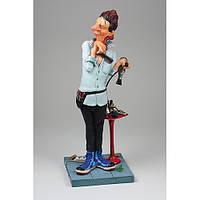 Статуэтка скульптора Guillermo Forchino - Парикмахер THE HAIRDRESSER 44 см.