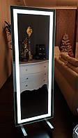 Зеркало 1700*600 см напольное с светодиодной подсветкой, индивидуальный размер