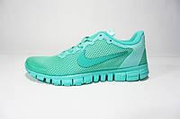 Женские кроссовки Nike Free Run 3.0, сетка, бирюза, Р. 37 40
