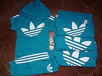 Детский  костюм на мальчика лето ''Adidas'', бирюзовый