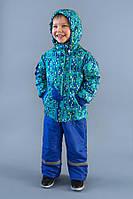 Модная утепленная куртка для мальчика на весну-осень