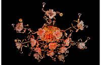 Люстра галогенная со светодиодной подсветкой , пультом 8528-15