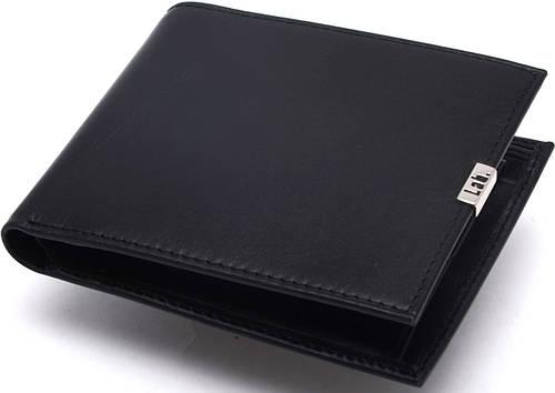 Стильное кожаное мужское портмоне Lab Pal Zileri Metal 21031/10 черный