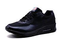 Кроссовки мужские Nike Airmax90, черные, р. 45