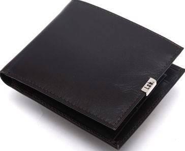 Удобное кожаное мужское портмоне Lab Pal Zileri Metal 21031/73 темно-коричневый