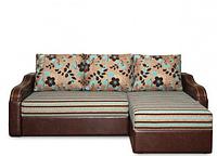 Угловой диван Гранада 2 с фигурными боковинами
