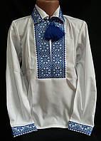 """Вышитая рубашка для мальчиков с воротничком """" Назар"""""""