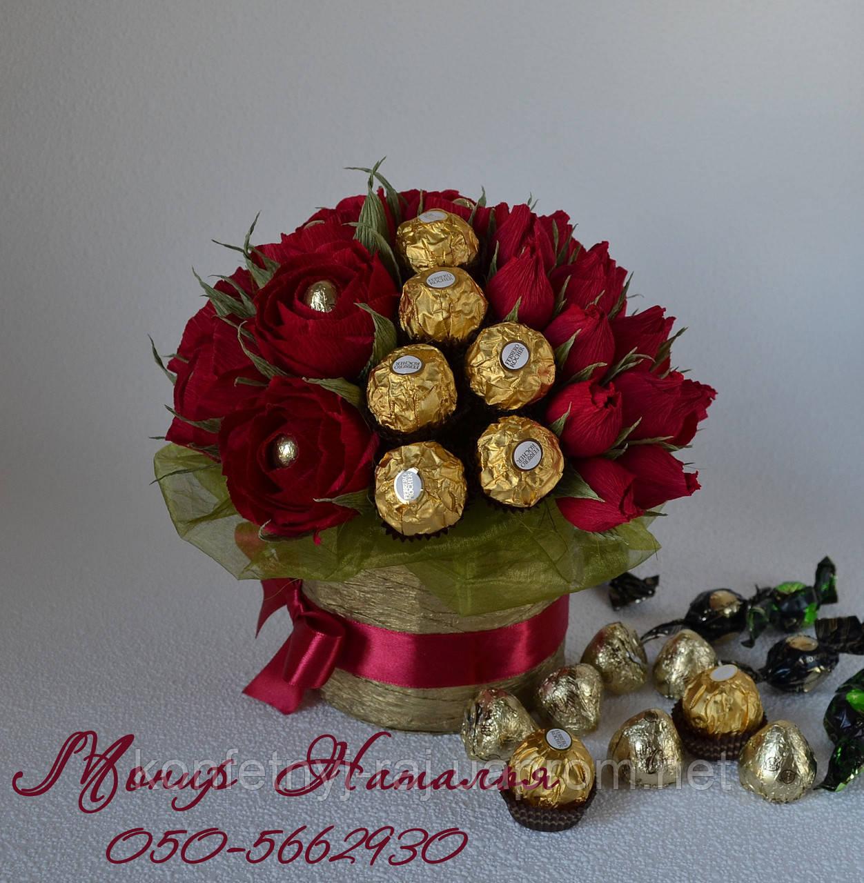 Букеты из конфет как их сделать фото