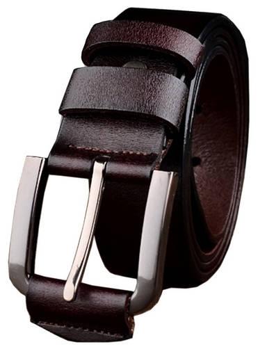 Оригинальный мужской кожаный ремень Traum 8715-12 ДхШ: 115х3,8 см.