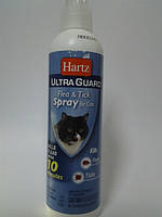 *Спрей ХАРТС УЛЬТРА ГАРД для кошек от блох и клещей 296мл