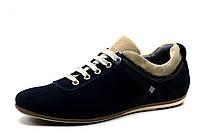 Спортивные туфли GS Zidane, мужские,  натуральная замша, синие, р. 40 44, фото 1