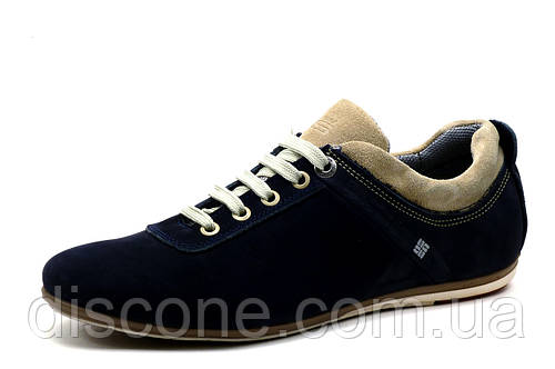 Спортивные туфли GS Zidane, мужские,  натуральная замша, синие, р. 40 44