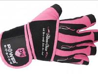 Power System  перчатки для фитнеса Fitness Chica ЖЕНСКИЕ, розовые