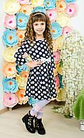 Платье в горошек для девочки, фото 1