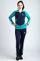 Женский спортивный костюм из ластика  2234