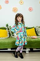 Костюм для девочки юбка и пиджак колибри, фото 1