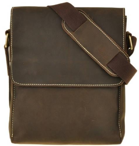 Кожаная мужская сумка через плечо BEXHILL Bх1017C
