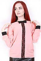 Блуза шифоновая 384 персик