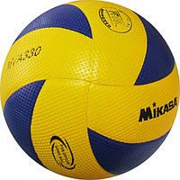 Мяч волейбол. Клееный MIK VB-4516 MVA-330 (PVC, №5, 3 слоя)