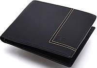Прочное мужское кожаное портмоне Lab Pal Zileri Olimpia 21050/10 черный
