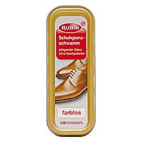 Щетка для блеска обуви Rubin прозрачная, 1 шт.
