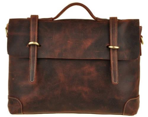 Кожаный мужской портфель BEXHILL Bx1033 коричневый