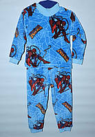 Піжама  махрова  для  хлопчиків  1-6  років SpiderMan