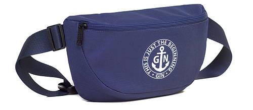 Поясная сумка L GIN 75395 синий