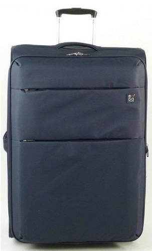 Практичный вместительный чемодан-гигант 100/113 л. на 2-х колесах Roncato Modo Cloud 425001/23 темно-синий