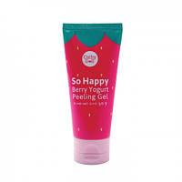 Пилинг-скатка So Happy 60 мл. So Happy Berry Yogurt Peeling Gel.