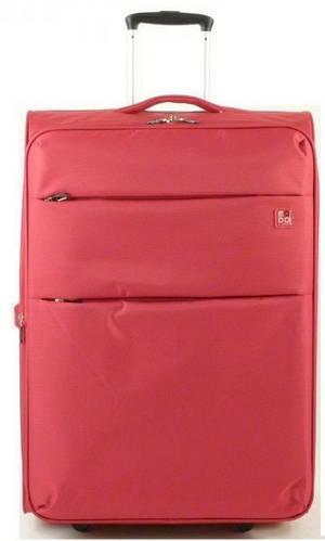 Дорожный яркий чемодан-гигант 100/113 л. на 2-х колесах Roncato Modo Cloud 425001/09 красный