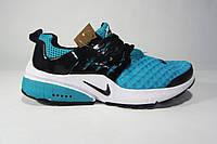 Женские, подростковые кроссовки  Nike Air Presto, сетка, бирюза, Р. 37 39 38  40